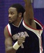 Gonzaga forward Ronny Turiaf - courtesy sports.yahoo.com
