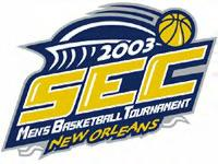 2003 SEC Basketball Tournament - From SECSports.com