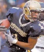 Pittsburgh WR Larry Fitzgerald - courtesy pittsburghpanthers.com