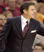 Louisville Head Coach Rick Pitino - courtesy uoflsports.com