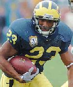 Michigan RB Chris Perry - courtesy mgoblue.com